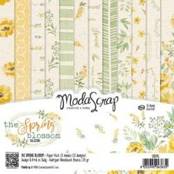 Paper pack Modascrap The Spring Blossom 15x15cm