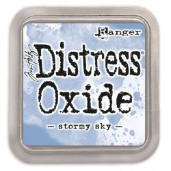 Ranger Tim Holtz distress oxide stormy sky