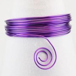 Filo di Alluminio 1,5mm x5mt Viola- Aluminium Wire Lilac