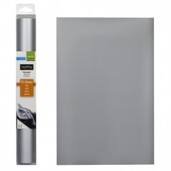 Tessuto termoadesivo - Hotfix A4 PU matt silver