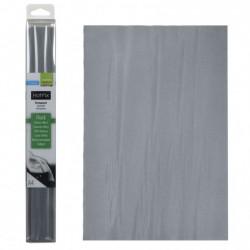 Tessuto termoadesivo - Hotfix A4 flock grey