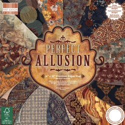 "First edition Paper pad PERFECT ALLUSION 12""x12"""
