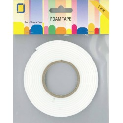 Foam Tape 2 m x 12 mm x 2 mm