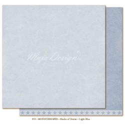 "Carta Maja Design 12""x12"" Monochromes - Shades of Denim - Light Blue"