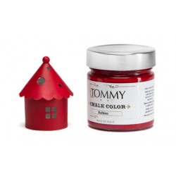 Chalk Color Tommy Art 80 ml - Rubino