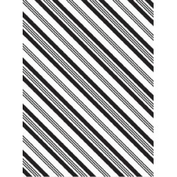 Embossing Template Darice stripe