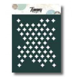 Stencil Tommy Design A6 - Rombi