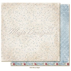 "Carta Maja Design 12""x12"" Christmas Season - Merry Night"