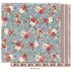 "Carta Maja Design 12""x12"" Christmas Season - Winter Roses"