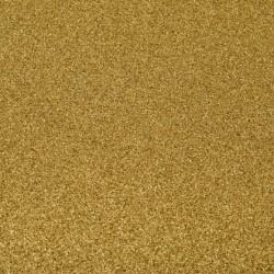 1 Foglio self-adhesive glitter paper 160g 30,5x30,5cm gold