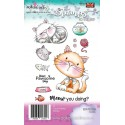 Timbri Polkadoodles Meow You Doing Clear Stamps