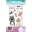 Timbri Polkadoodles Woof You Clear Stamps
