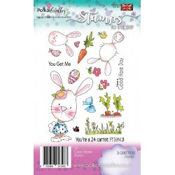 Timbri Polkadoodles 24 Carrot Friend Clear Stamps