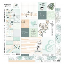 Kit Carte Florileges Design SOFT & GREENS