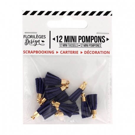 Mini Pompons OUTREMER Florileges Design - Mini Tasselli