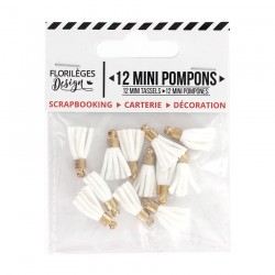 Mini Pompons EDELWEISS Florileges Design - Mini Tasselli