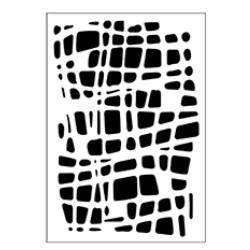 Stencil Tommy Art A5 - Rete Grande