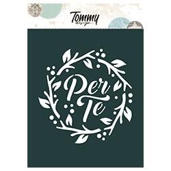Stencil Tommy Design A6 - Per te