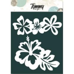 Maschera Tommy Design A5 - Fiori Tropicali