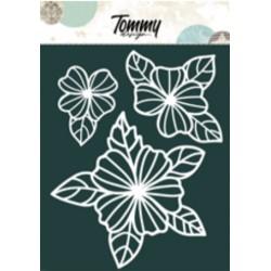 Maschera Tommy Design A5 - Fiori 4 Petali
