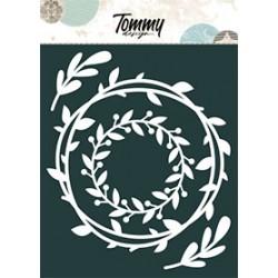 Maschera Tommy Design A5 - Ghirlande