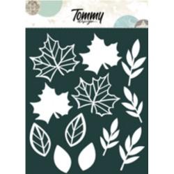 Ritagli Tommy Design A5 - Foglie Autunno