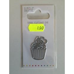 Simply Creative Die- Cupcake