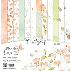 Paper pack Modascrap Shades of loves 30x30cm
