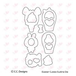 Set fustelle C.C. Designs Easter Cuties