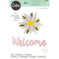"""Sizzix Bigz L Die  """"Futura Premana"""" - Stella Alpina"""