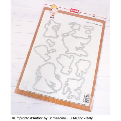 Fustelle Impronte D'Autore Pinocchio e la Fata Turchina