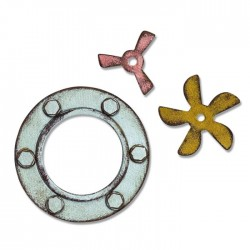 Sizzix Bigz Die - Steampunk Parts
