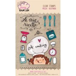 Set timbri Pink Your Life - Lisa Ciccone - Ricettario