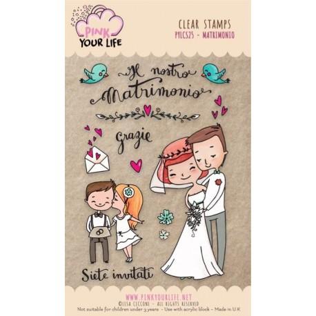 Set timbri Pink Your Life - Lisa Ciccone - Matrimonio