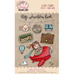 Set timbri Pink Your Life - Lisa Ciccone - Travel Book