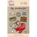 Set timbri Pink Your Life - Lisa Ciccone - Travel Book