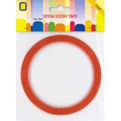 Biadesivo extra sticky 3mm x10 metri