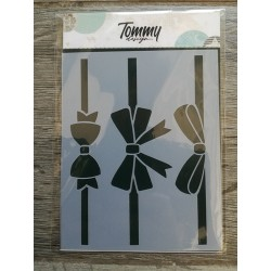 Stencil Tommy Design A6 - Rose