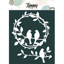 Maschera Tommy Design A5 - Cuori e Love You