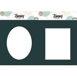 Maschera Tommy Design A5 - Corona di fiori
