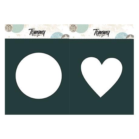 Maschera Tommy Design A5 - Ovale e rettangolo