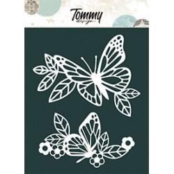 Maschera Tommy Design A5 - Farfalle grandi