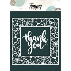 Maschera Tommy Design A5 - Thank you