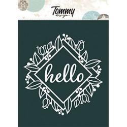 Maschera Tommy Design A5 - Hello