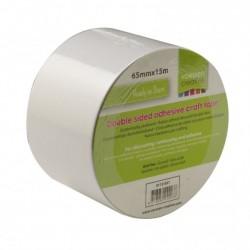 Vaessen Creative • Double sided craft tape (biadesivo da fustellare) 15m x 65mm