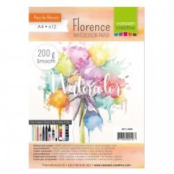 Florence watercolor paper A5 - 200gr - Carta per colori acquerellabili liscia