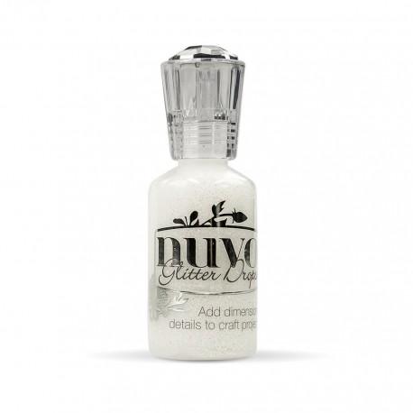 Nuvo Glitter drops - Silver moondust 30ml