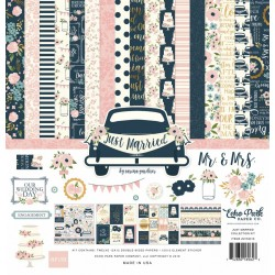 "Echo Park Just Married 12x12"" Collection Kit Foiled"