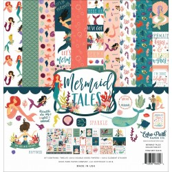 "Echo Park Mermaid Tales 12x12"" Collection Kit"