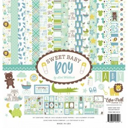 "Echo Park Sweet baby boy 12x12"" Collection Kit"